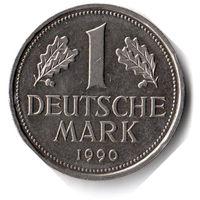 Германия. 1 марка. 1990 J