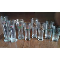 Коллекция пивных бокалов