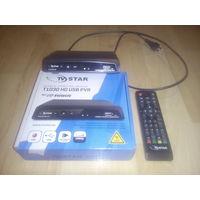 Цифровой DVB-T, T2 тюнер TV STAR T1030 HD USB PVR!