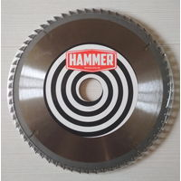 Диск пильный HAMMER по ламинату d-210 мм / 64 зуба