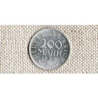 Германия 200 марок 1923 G //(Ок)