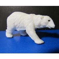 Белый медведь(твёрдый пластик),СССР,70- е годы-3