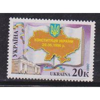 Украина 1997 Конституция первая **
