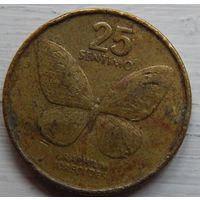 Филиппины 25 сентимо 1991 год