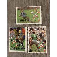 Гайана 1989. Чемпионат мира по футболу Италия-90