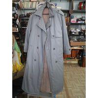 Пальто-плащ на синтипоне, ГДР. размер 54/3-4.