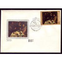 Комплект из 6 КПД 1972 год Зарубежная живопись