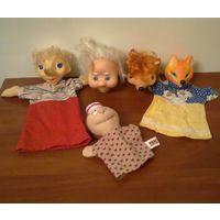 Куклы пальчиковые для кукольного театра одним лотом