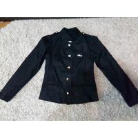 Пиджак детский чёрный