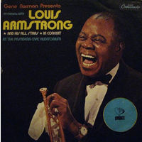 2LP An Evening With Louis Armstrong And His All Stars In Concert At The Pasadena Civic Auditorium (1977)