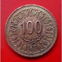 54-03 Тунис, 100 миллимов 2011 г.