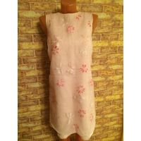 Платье розовое 158xs, очень красивое и стильное платье, нежная расцветка впереди сделано из двойной ткани органзы и жеванной ткани Покупала в Tom tailor, 1 раз на выход обмен не интересует