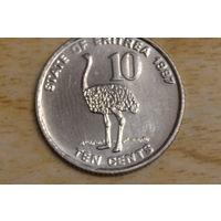 Эритрея 10 центов 1997
