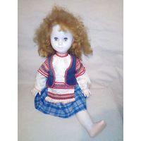 Большая милая высокая кукла СССР с проблемкой
