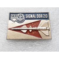 FDJ. SIGNAL DDR 20. Комсомол ГДР #0402-LP6