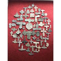 Сборный лот2 интересных фрагментов-запчастей пластики с рубля!