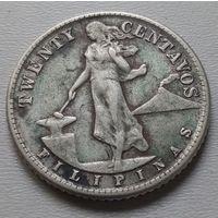 Филиппины 20 сентаво 1945 г.