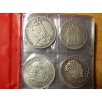 Крупное серебро в монетах