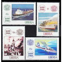 1988 Либерия 1435-1438 Корабли 5,50евро