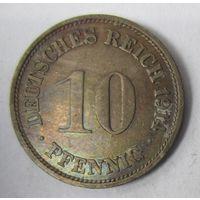 Германия. 10 пфеннигов 1914 G. 1-76