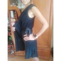 Платье на одно плечо р.С