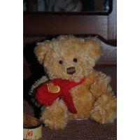 Малый, коричневый с шарфиком мишка/миша/мишутка - (б.у.) - игрушка зарубежного производства за 13 у.е.)!