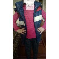 Куртка - жилетка детская рост 110-116 (н)