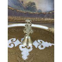 Колокольчик бронзовый Старинный бронза ручной работы
