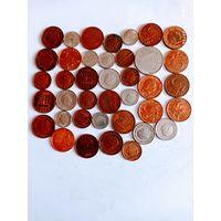 Монеты Недерланды с рубля.
