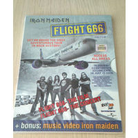 IRON MAIDEN - FLIGHT 666 - \ DVD \