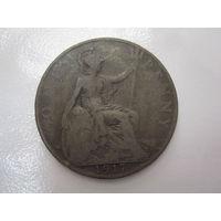 1 Пенни 1917 (Великобритания) Георг V