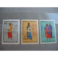 Португальская  Ангола.  Этнос.  1957г.