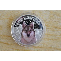 Ниуэ 2 доллара 2014 Западно-сибирская лайка