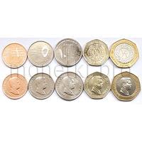 Иордания 5 монет 2008-2011 годов.