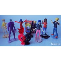 Серия игрушек из киндера леди баг