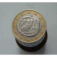 1 евро 2004 Греция