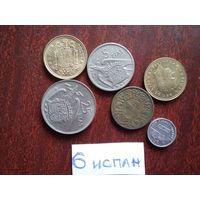 6 монет   испания