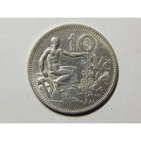 Чехословакия 10 крон 1932г
