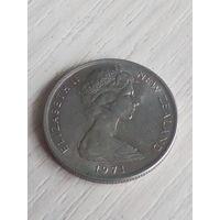 Новая Зеландия 5 центов 1971г.