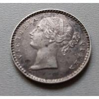 Индия 2 анны 1841 г.