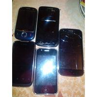 Мобильный телефон.,на з/ч или восст/ цена за ед.