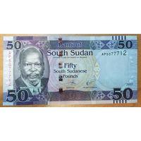 50 фунтов 2017 года - Южный Судан - UNC