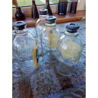 Мерные бутылки из под дистилированной воды 400мл - 4шт