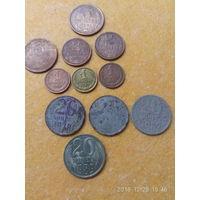 Монеты советские разные