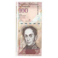 100 боливаров Венесуэллы 2013 года ПРЕСС!