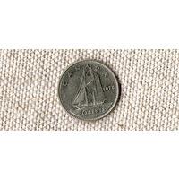 Канада 10 центов 1978 Корабль //(Ок)