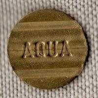 Жетон / AQUA Token, Wertmarken, Automatenmunzen