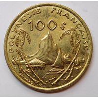 Французская Полинезия 100 франков 2012 г