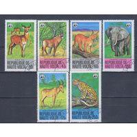 [2391] Верхняя Вольта 1979. Фауна.Дикие животные. Гашеная серия.
