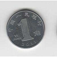 1 джао Китай (КНР) 2011 Лот 2452